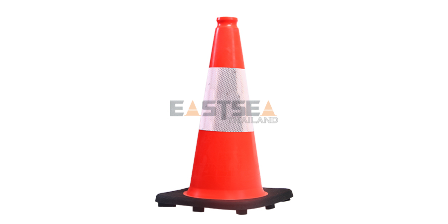 18'' PVC Traffic Cone[Recessed Handle Topper] -1