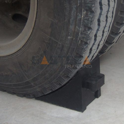 General Wheel Chock with Rubber Handle